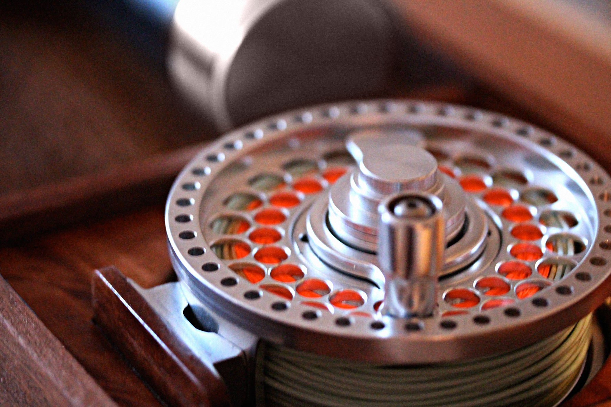 The Ernest Hemingway Signature 9 weight Fly Reel