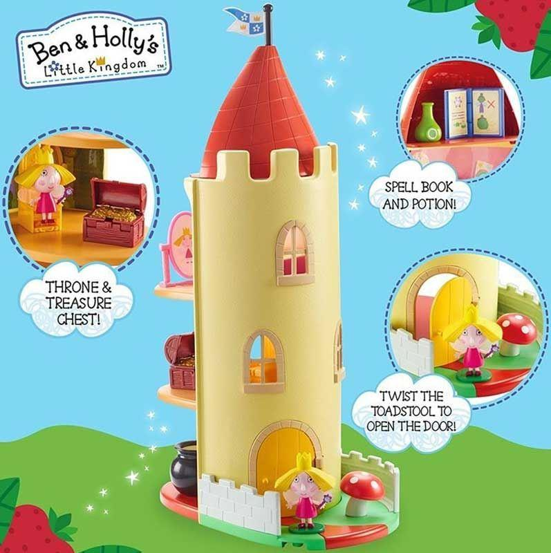 An image of Ben & Holly's Little Kingdom Thistle Castle Playset No / Ben & Holly's Little Ki...