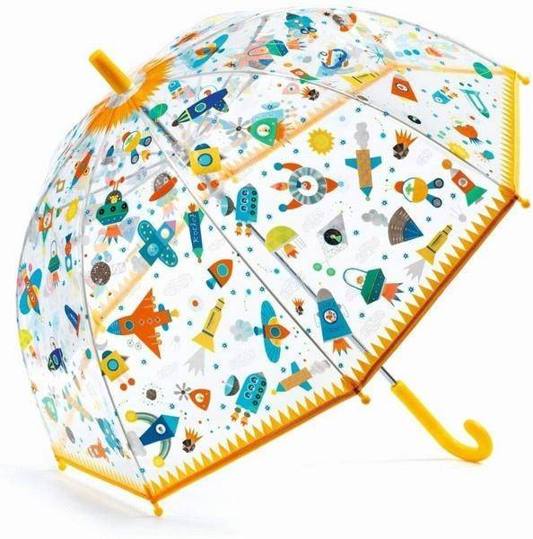 Children's Umbrella - Space Children's Accessories Giddy Goat Toys