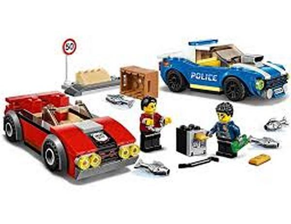 Lego City Police Highway Arrest 60242 Lego Giddy Goat Toys