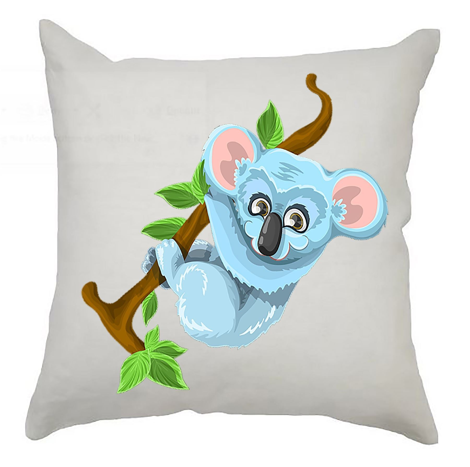 An image of Cushion Cover 40cm x 40cm - Koala Kooky Kids / Perfect gift for any new arrival ...