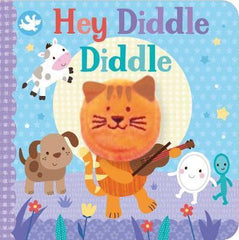 Hey Diddle Diddle Finger Puppet Book Books Giddy Goat Toys