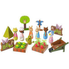 Peter Rabbit™ Play Set Wooden Toys Giddy Goat Toys