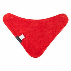 Mum 2 Mum Bandana Style Wonder Bib - Red Polka Dot / White Teething Baby&More