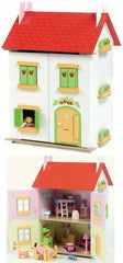 Tutti Frutti Dolls House with furniture Dolls House HIBBA TOYS OF LEEDS