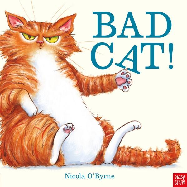 Bad Cat! Picture Book General Giddy Goat Toys