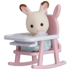 Baby Carry Case (Rabbit on Baby Chair) Sylvanian Families Giddy Goat Toys