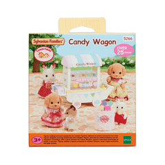 Sylvanian Familes - Candy Wagon General Giddy Goat Toys