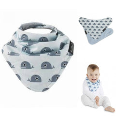 Buy 4 & Get 1 FREE | Mum 2 Mum Patterned Bandana Style Baby Bib 5 Pack Multipacks Baby&More
