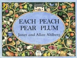 Each Peach Pear Plum by Janet and Allan Ahlberg Books Giddy Goat Toys