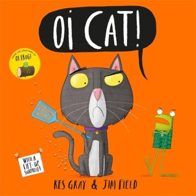 Oi Cat! Board Book Books Giddy Goat Toys