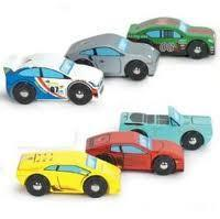 Montecarlo Sports Car Set by Le Toy Van Vehicle Sets Giddy Goat Toys