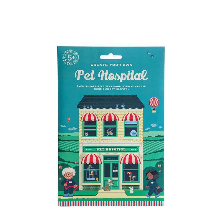 Pet Hospital: Create Your Own Pet Hospital Craft Set Giddy Goat Toys