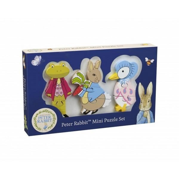 Peter Rabbit™ Mini Puzzle Set Jigsaw Puzzles Giddy Goat Toys