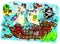 Pirate Ship Jigsaw Puzzle by Orchard Toys Orchard Toys games Giddy Goat Toys