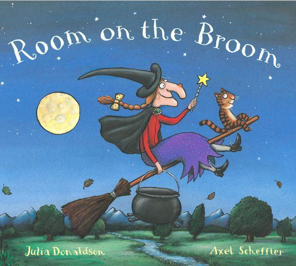 Room on the Broom by Julia Donaldson & Axel Scheffler Books Giddy Goat Toys