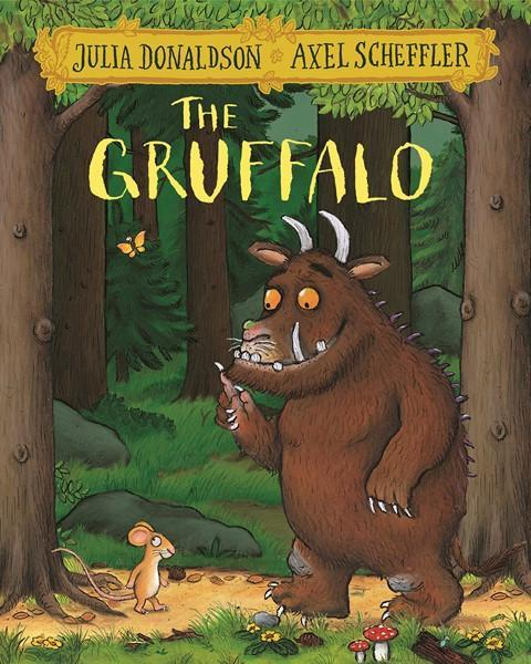 The Gruffalo by Julia Donaldson & Axel Scheffler Books Giddy Goat Toys