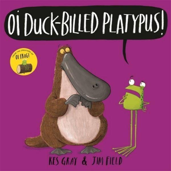Oi Duck-billed Platypus! Board Book Books Giddy Goat Toys