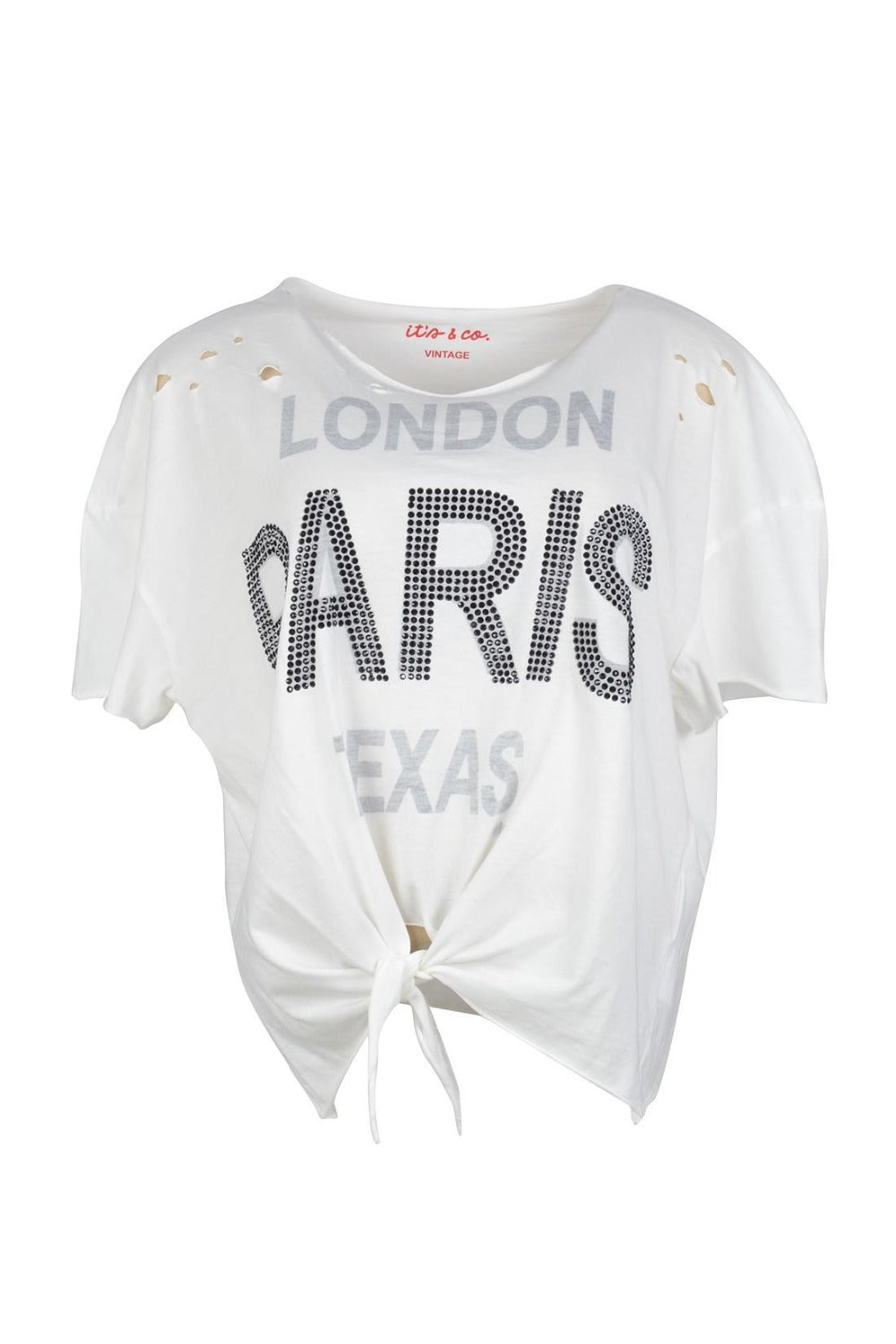 T-SHIRT ITS&CO PARIS