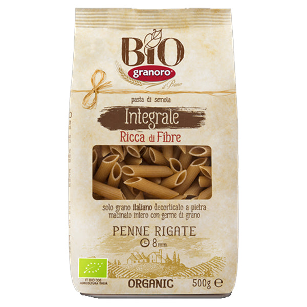 Granoro Organic Penne Rigate 500g - LeMed