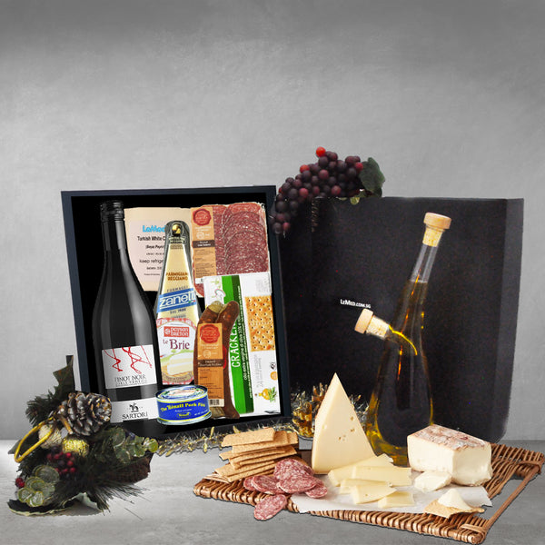 LeMed Deluxe Cheese & Charcuterie Hamper - LeMed