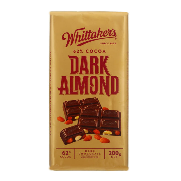 Dark Almond Chocolate 200g - LeMed