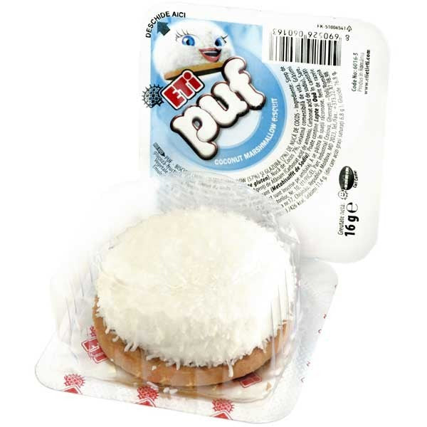 Eti Puf Coconut With Marshmallow 16g