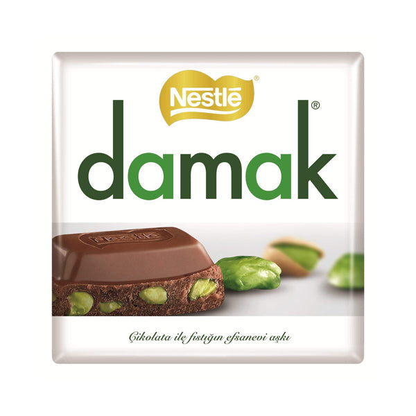 Nestle Damak Chocolate With Antep Pistachio 63g