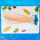 Mediterranean Smoked Rainbow Trout Fillet 125g - Frozen