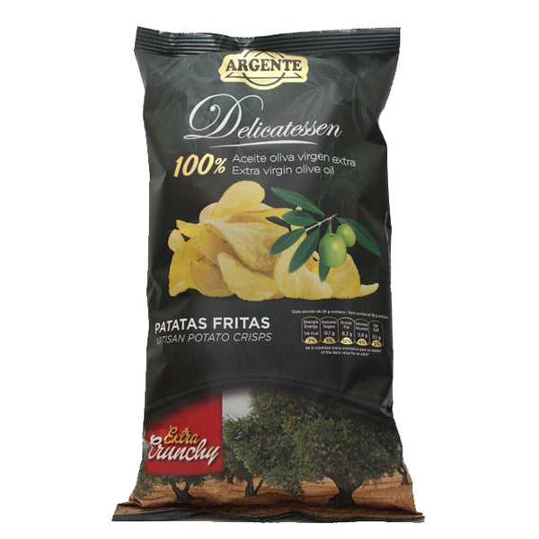 Papas Argente - Potato Crisps (Extra Virgin Olive Oil) - LeMed
