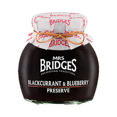 Mrs Bridges Blackcurrant & Blueberry Preserve