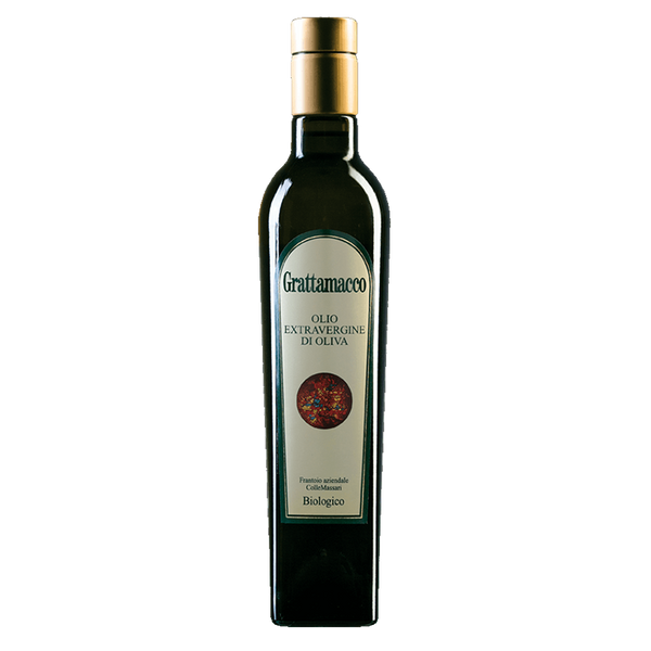 "Grattamacco-Extra Virgin Olive Oil ""Organic"" IGP NV - LeMed"