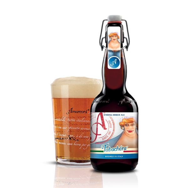 "Amarcord Beer-Strong Amber Ale ""Tabachera"" - LeMed"