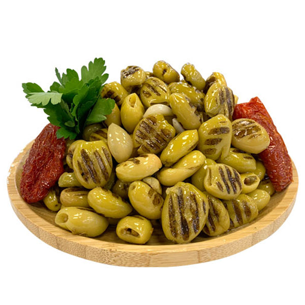 Grilled Green Olives 200g - LeMed