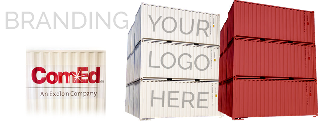 shipping container branding and OEM