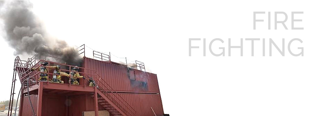 fire fighting container structures