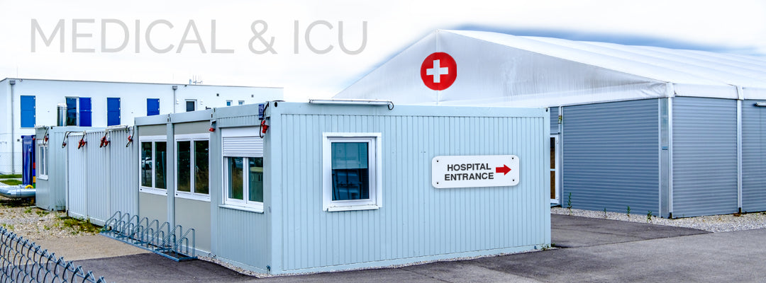 Shipping containers for medical use
