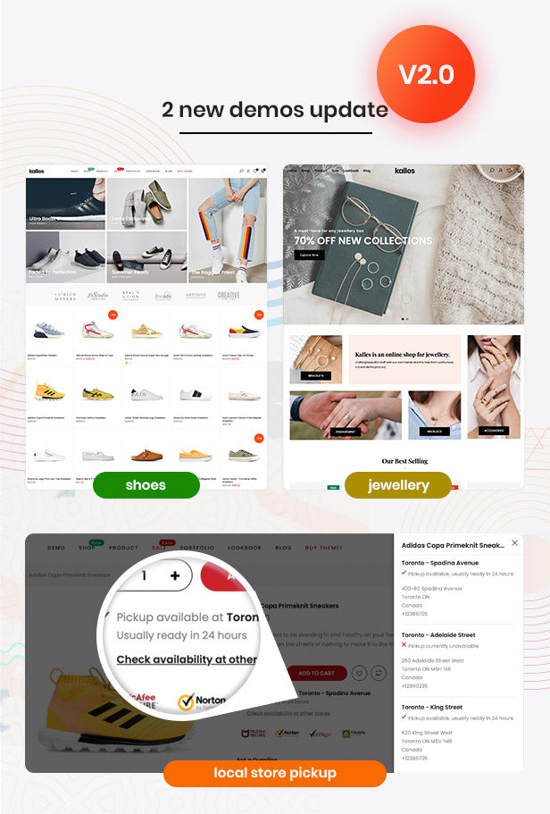 Kalles - Clean, Versatile, Responsive Shopify Theme - RTL support - 1