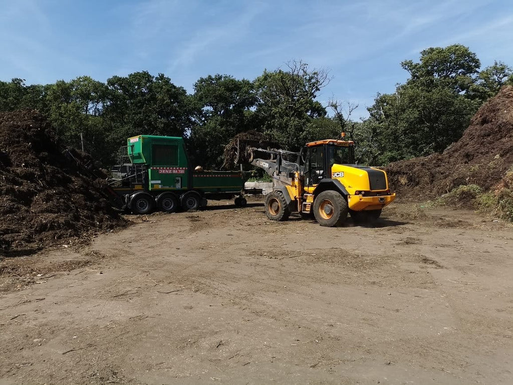 Open windrow composting facility