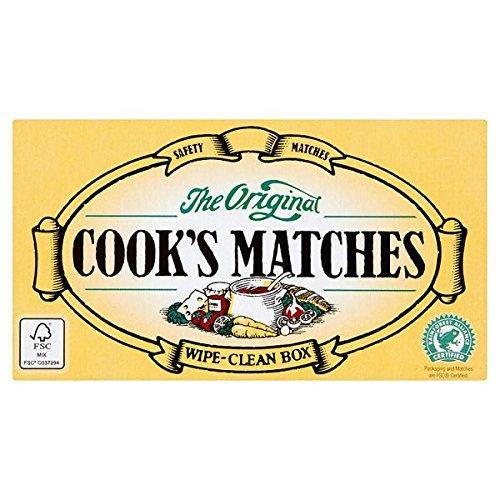 Large box of cooks matches