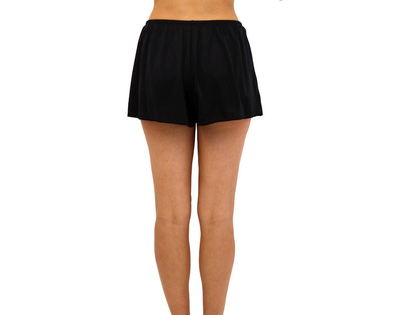 Faux Wrap Short Short