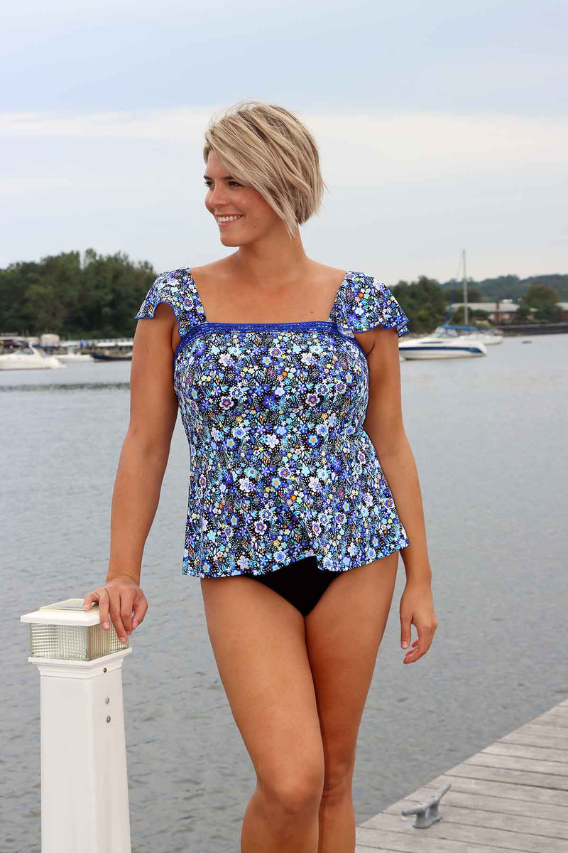 Sweet Pea - Sleeved Bandeau Top