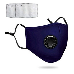 The ConSeal: Premium Cotton Reusable Face Masks with Ventilating Valve (now with FREE shipping!)
