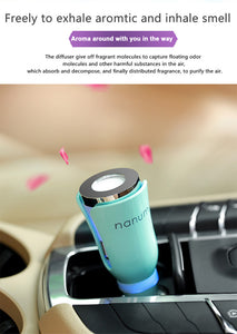 Essential Oil Diffuser with Automobile Power Outlet