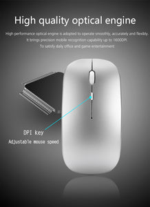 Wireless Rechargeable Computer Mouse
