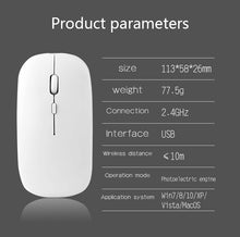 Load image into Gallery viewer, Wireless Rechargeable Computer Mouse