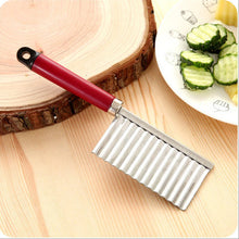 Load image into Gallery viewer, The Wavy Slicer: Specialty Corrugated Knife