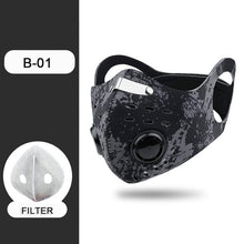 Load image into Gallery viewer, Double Vent Face Mask for Running and Cycling