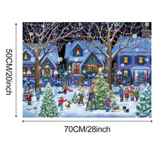 Load image into Gallery viewer, Merry Christmas 1000 Piece Jigsaw Puzzles