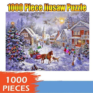 Merry Christmas 1000 Piece Jigsaw Puzzles